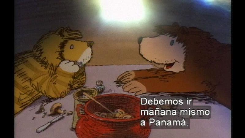 Still image from Panama (Spanish)