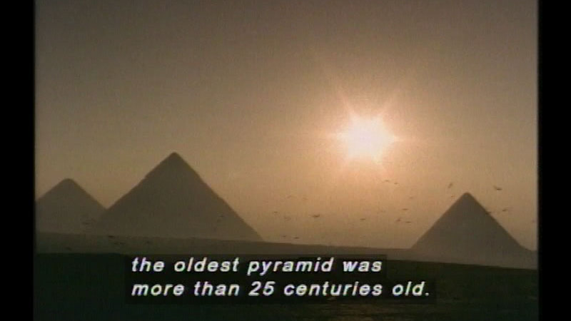 Still image from Great Egyptians