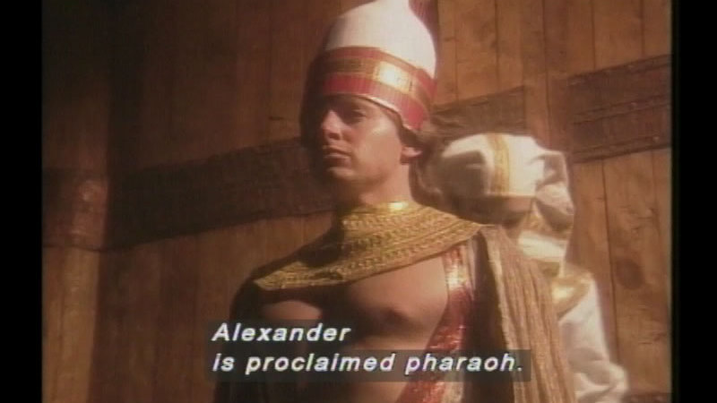 Still image from Alexander The Great