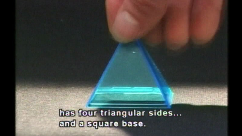 Still image from Geometry 2: Surface Area Of Solids