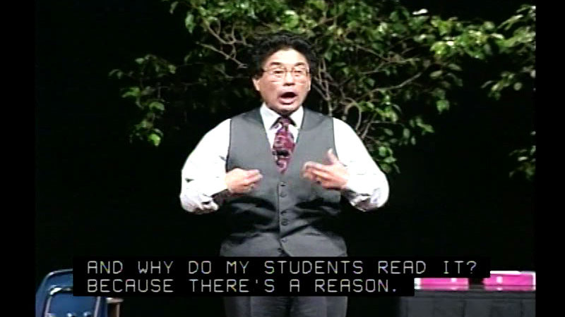 Still image from The Effective Teacher With Harry K. Wong, Part 5: Cooperative Learning And Culture