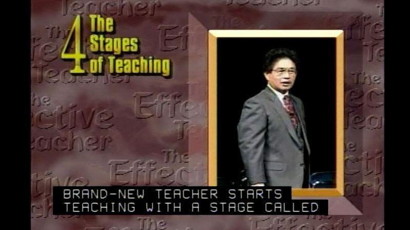 The Effective Teacher With Harry K Wong Part 1 The Effective Teacher