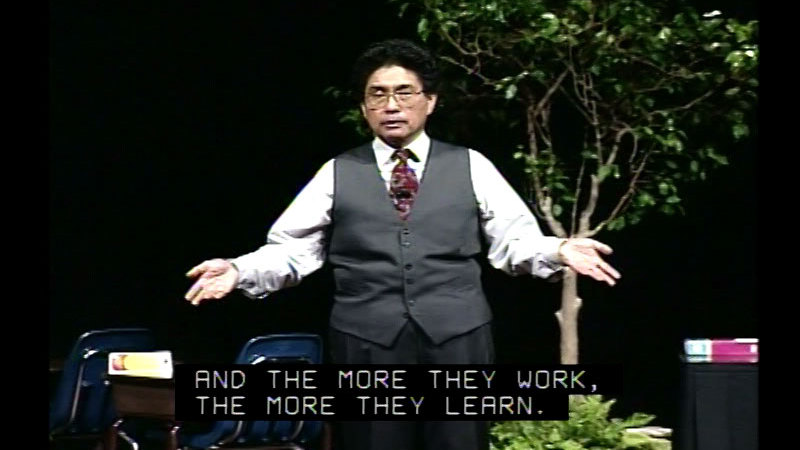 Still image from The Effective Teacher With Harry K. Wong, Part 7: The Professional Educator