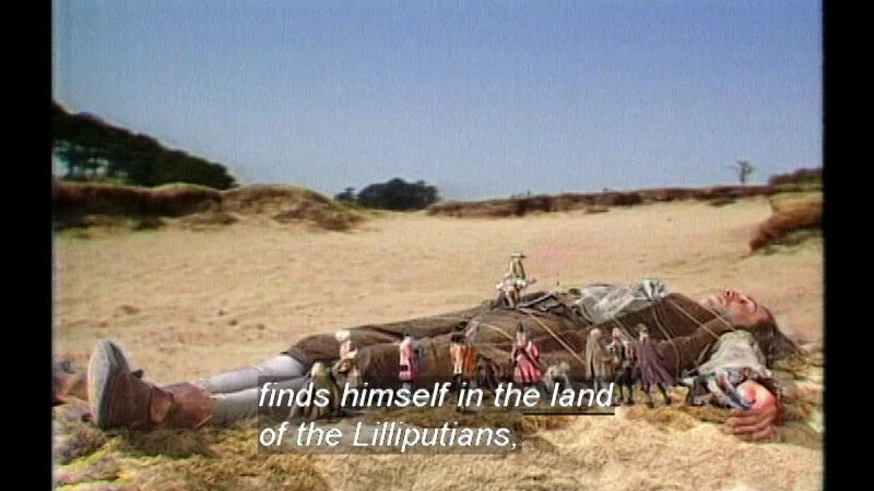 Still image from Gulliver's Travels