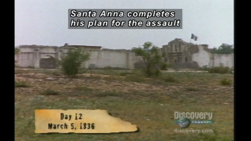 Still image from The Battle Of The Alamo