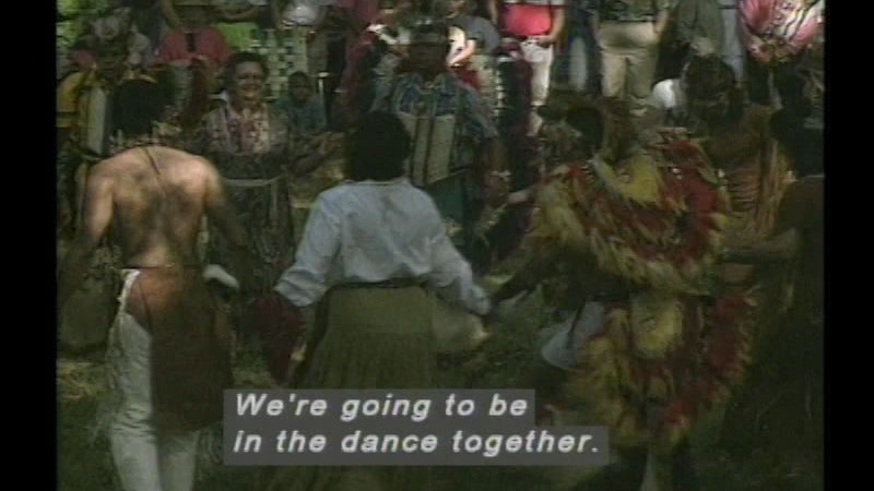 Still image from Come Celebrate With Me: Native American Powwow
