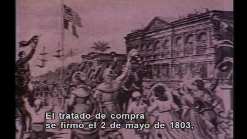 Still image from Expansion And Growth - 19th Century (Spanish)