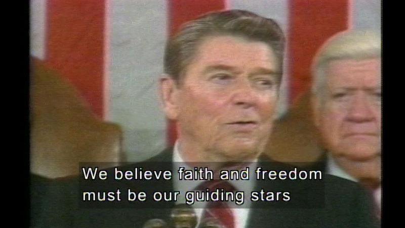 Still image from Carter, Reagan, & G.H. Bush