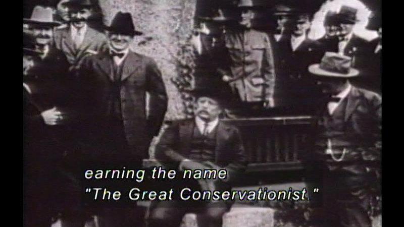 Still image from Cleveland, McKinley, & Theodore Roosevelt