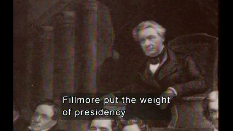 Still image from Fillmore, Pierce, & Buchanan