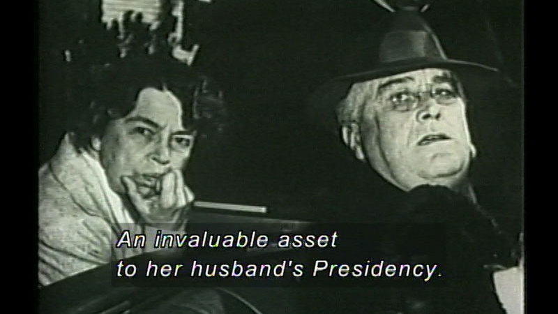 Still image from Franklin D. Roosevelt