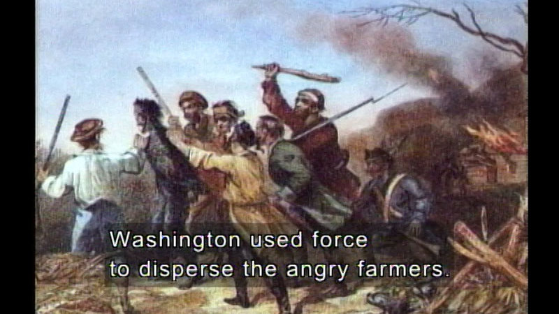 Still image from George Washington