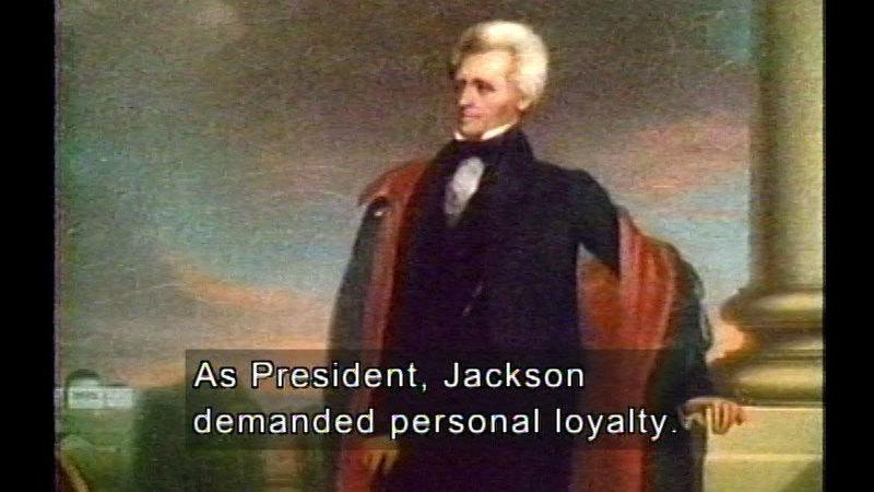 Still image from J.Q. Adams, Jackson, & Van Buren