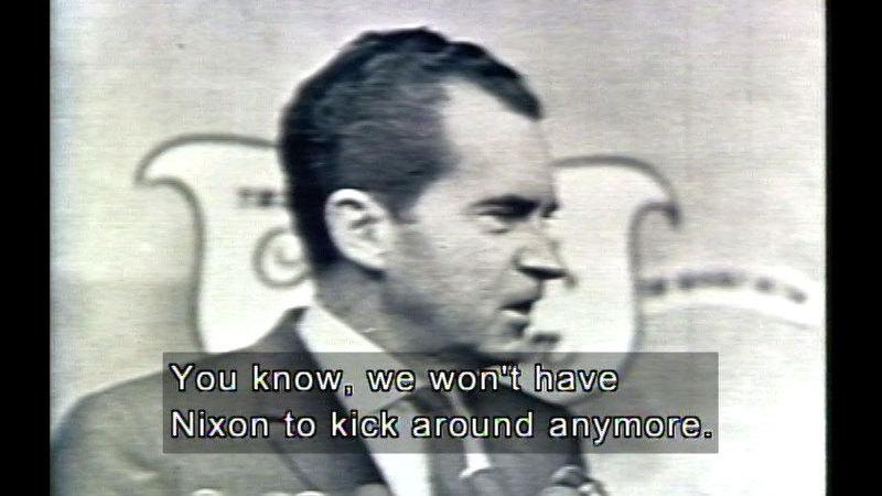 Still image from L.B. Johnson, Nixon, & Ford