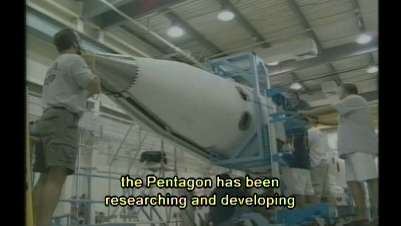Still image from Science On The Newshour: Technology