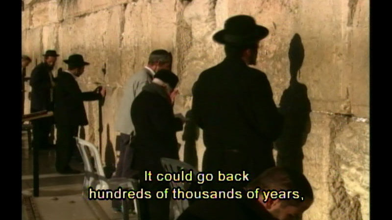Still image from Speaking In Tongues: The History Of Language--Let There Be Words