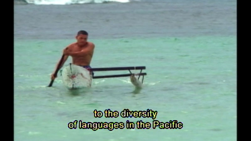 Still image from Speaking In Tongues: The History Of Language--Mother Tongues