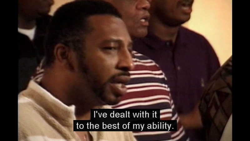 Still image from The Angry Heart: The Impact Of Racism On Heart Disease Among African Americans