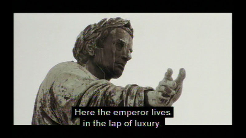 Still image from Life Under Napoleon: Part I