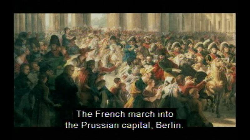 Still image from Life Under Napoleon: Part II