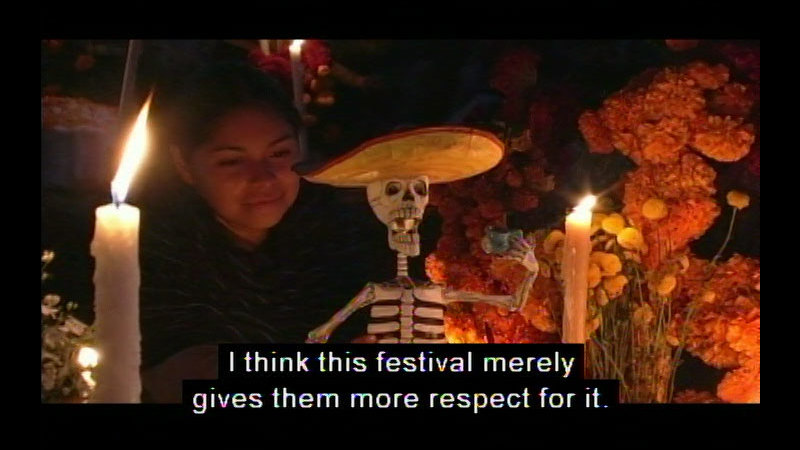 Still image from Mexico: The Days of the Dead