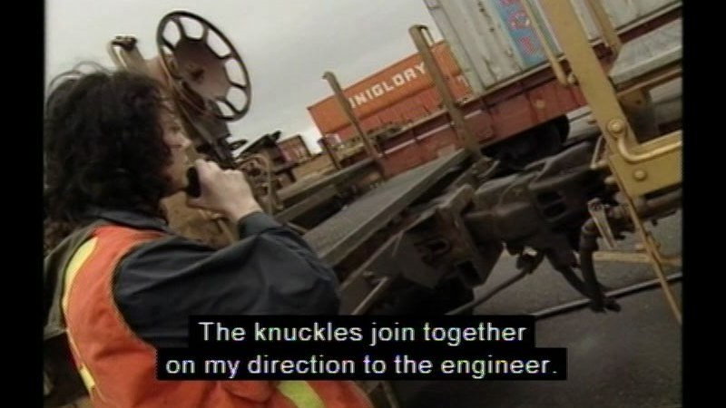 Still image from Career Options For Women: Railway