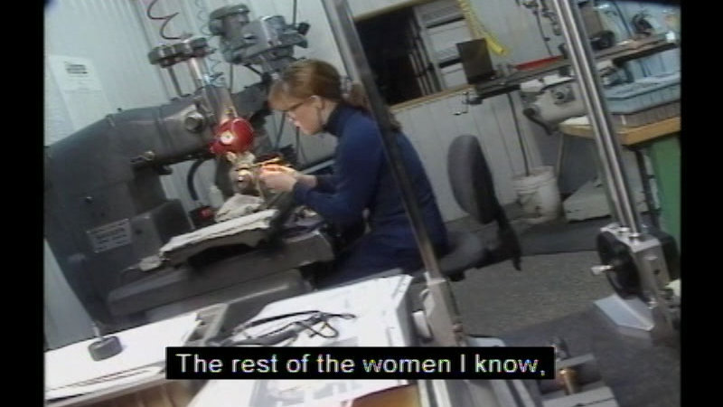 Still image from Career Options For Women: Manufacturing