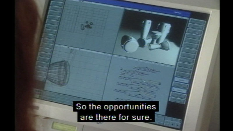 Still image from Career Options For Women: Information Technology