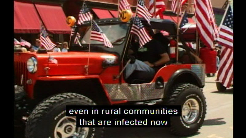 Still image from Soft Smoke: AIDS In The Rural West