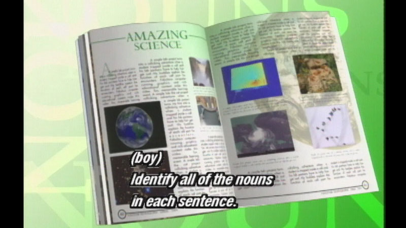 Still image from Nouns