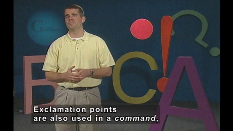 Still image from End Punctuation