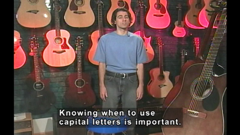Still image from Capitalization