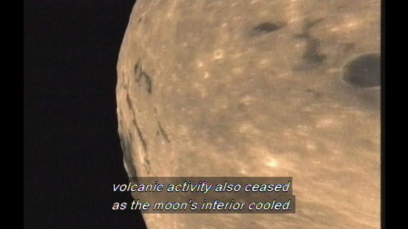 Still image from Moon: Our Partner In Space & Jaw Drop: Eclipses & Aurorae
