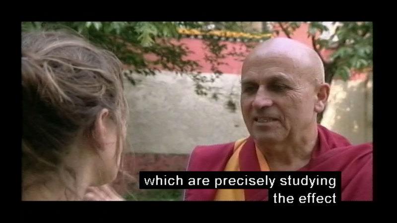 Still image from Meditation