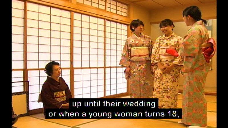 Still image from Kimono
