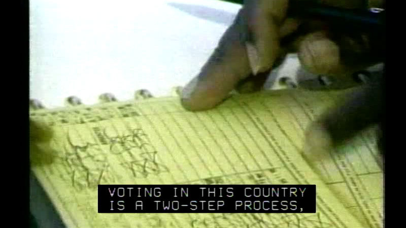 Still image from Elections: The Maintenance Of Democracy
