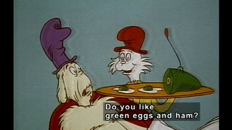 Still image from Dr. Seuss On The Loose