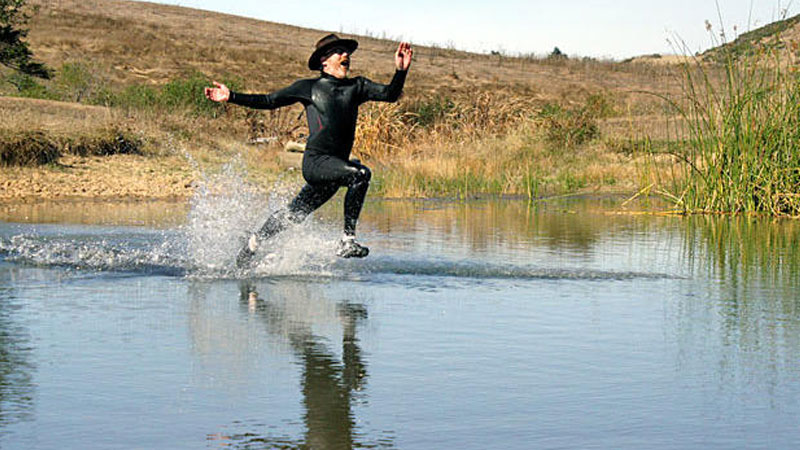 Still image from Walking On Water