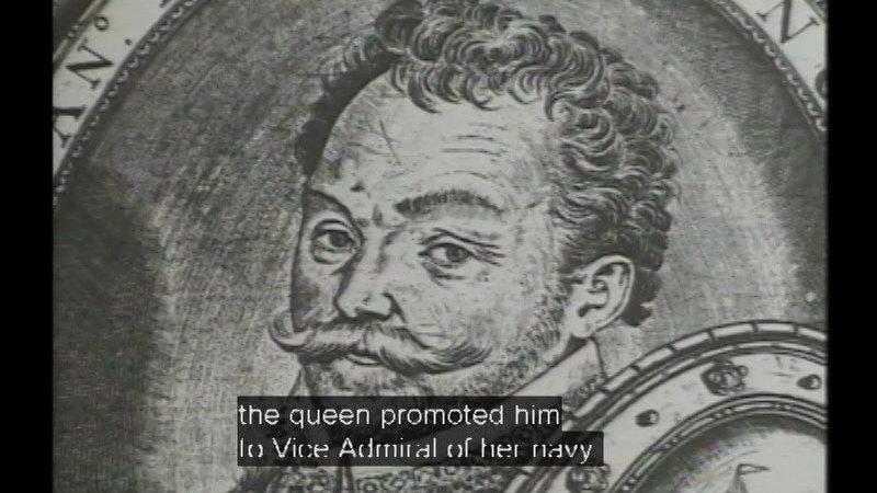 Still image from Sir Francis Drake