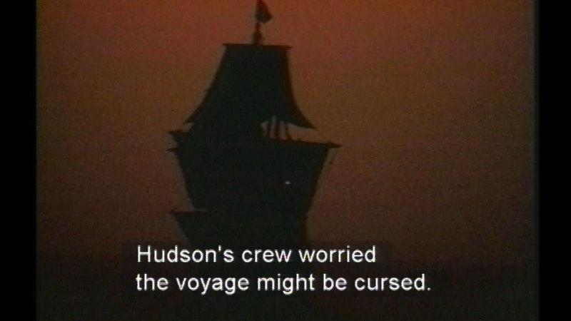 Still image from Henry Hudson