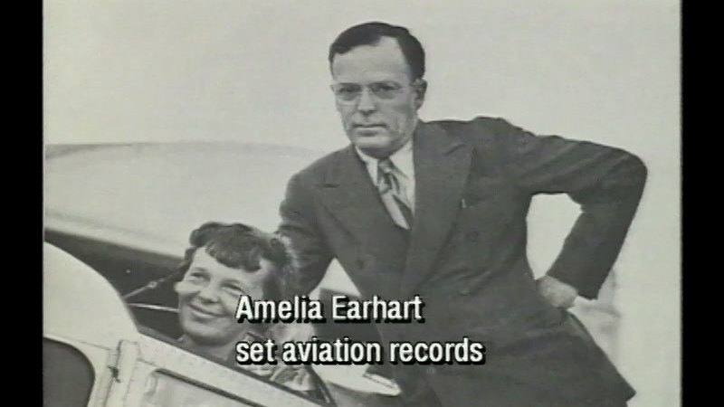 Still image from Amelia Earhart