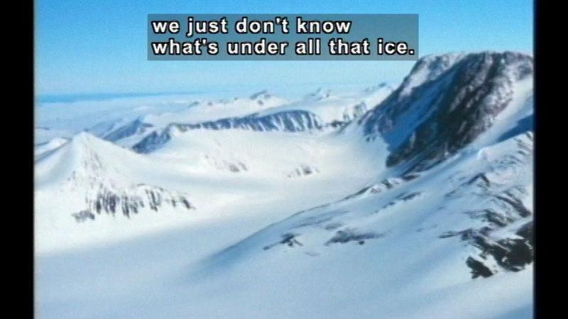 Still image from Antarctica