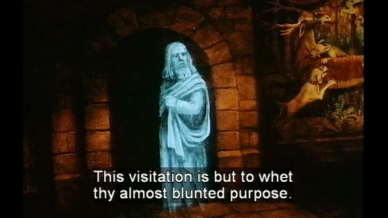 Still image from Hamlet