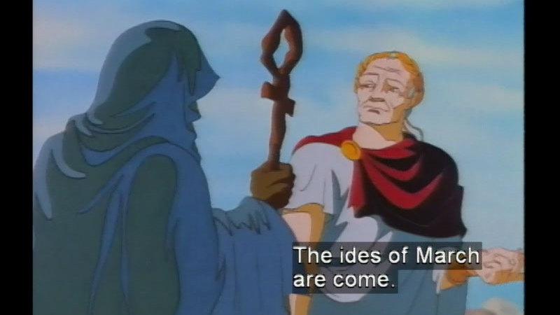 Still image from Julius Caesar