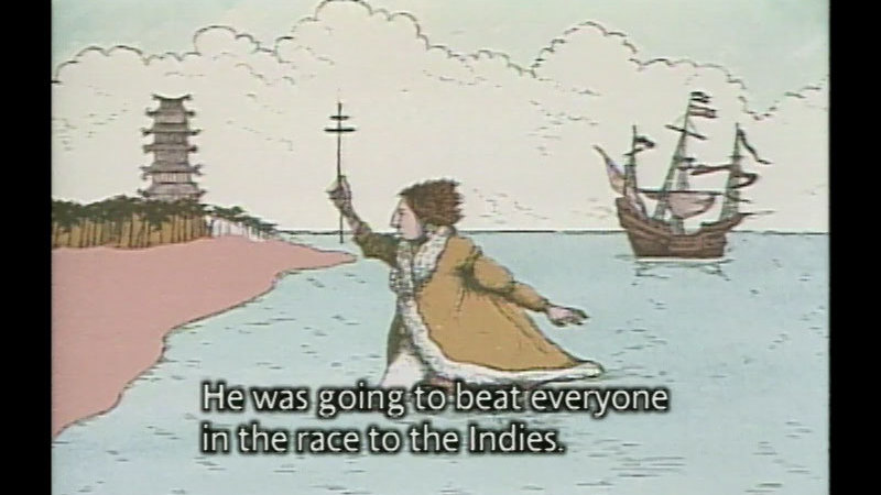 Still image from Where Do You Think You're Going, Christopher Columbus?