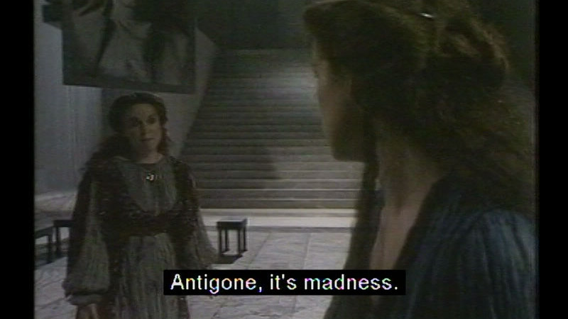 Still image from The Theban Plays By Sophocles: Antigone