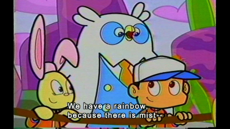 Still image from Way Over The Rainbow