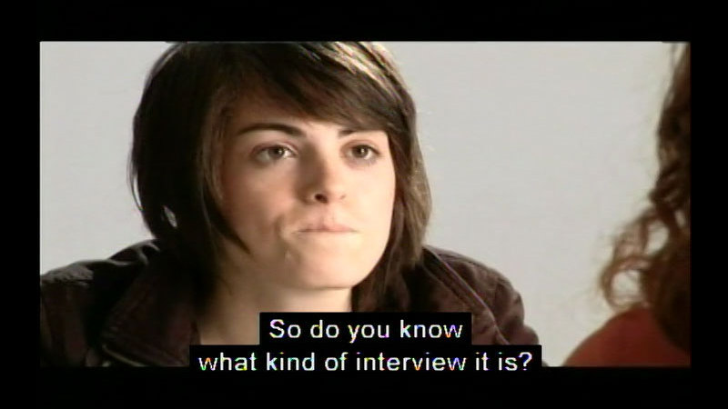 Still image from Getting It Right At The Interview (Student Version)
