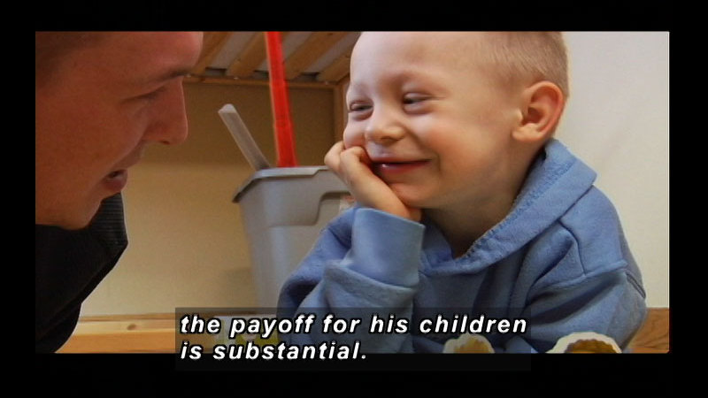 Still image from Fathering: What It Means To Be A Dad