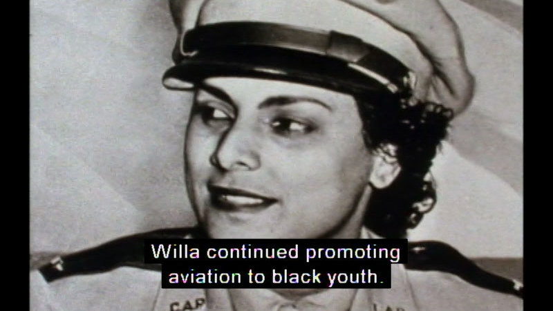 Still image from Willa Brown: An American Aviator